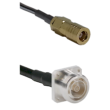 SLB Female on LMR200 UltraFlex to 7/16 4 Hole Female Cable Assembly