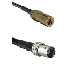 SLB Female on LMR200 UltraFlex to BNC Female Cable Assembly