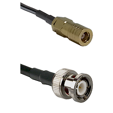 SLB Female on LMR200 UltraFlex to BNC Male Cable Assembly