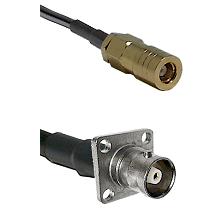 SLB Female on LMR200 UltraFlex to C 4 Hole Female Cable Assembly