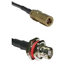 SLB Female on LMR200 UltraFlex to C Female Bulkhead Cable Assembly