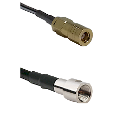 SLB Female on LMR200 UltraFlex to FME Male Cable Assembly