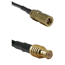 SLB Female on LMR200 UltraFlex to MCX Male Cable Assembly