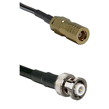 SLB Female on LMR200 UltraFlex to MHV Male Cable Assembly
