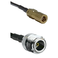 SLB Female on LMR200 UltraFlex to N Female Cable Assembly