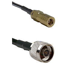 SLB Female on LMR200 UltraFlex to N Male Cable Assembly