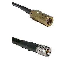 SLB Female on RG142 to 10/23 Male Cable Assembly