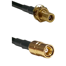 SLB Female Bulkhead on RG142 to SMB Female Cable Assembly