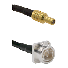 SLB Male on Belden 83242 RG142 to 7/16 4 Hole Female Cable Assembly