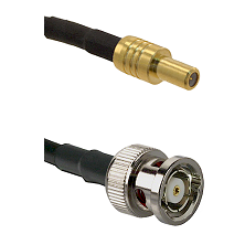 SLB Male on LMR100 to BNC Reverse Polarity Male Cable Assembly