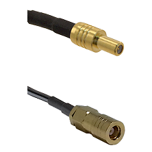 SLB Male on LMR100/U to SLB Female Cable Assembly