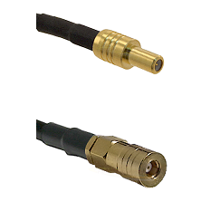 SLB Male on LMR100/U to SSMB Female Cable Assembly