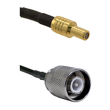 SLB Male on LMR-195-UF UltraFlex to SC Male Cable Assembly