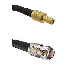 SLB Male on LMR-195-UF UltraFlex to TNC Female Cable Assembly