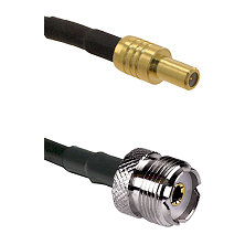 SLB Male on LMR-195-UF UltraFlex to UHF Female Cable Assembly