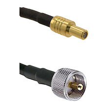 SLB Male on LMR-195-UF UltraFlex to UHF Male Cable Assembly