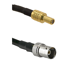 SLB Male on LMR200 UltraFlex to BNC Female Cable Assembly