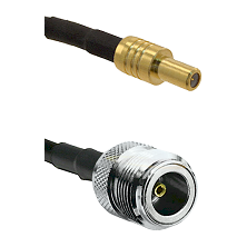 SLB Male on LMR200 UltraFlex to N Female Cable Assembly
