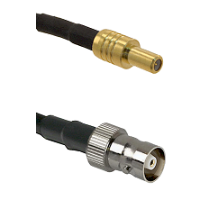 SLB Male on RG142 to C Female Cable Assembly