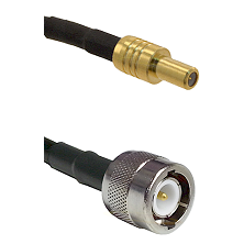 SLB Male on RG142 to C Male Cable Assembly