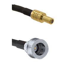 SLB Male on RG316 to QN Male Cable Assembly