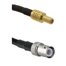 SLB Male on RG400 to BNC Reverse Polarity Female Cable Assembly