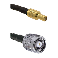 SLB Male on RG400 to TNC Reverse Polarity Male Cable Assembly