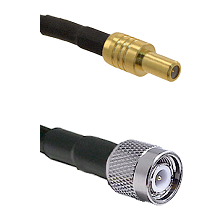 SLB Male on RG400 to TNC Male Cable Assembly