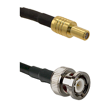 SLB Male on RG58C/U to BNC Male Cable Assembly