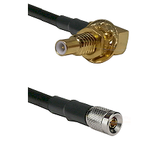 SLB Male Bulkhead on RG58C/U to 10/23 Male Cable Assembly