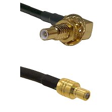 SLB Male Bulkhead on RG58C/U to SMB Male Cable Assembly