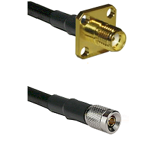 SMA 4 Hole Female on RG58C/U to 10/23 Male Cable Assembly
