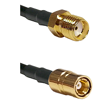 SMA Female To SMB Female Connectors RG178 Cable Assembly