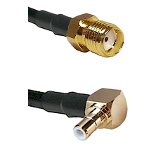 SMA Female To Right Angle SMB Male Connectors RG188 Cable Assembly