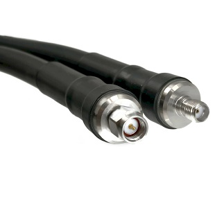SMA Male On LMR400UF To SMA Female Connectors Ultra Flex Coaxial Cable
