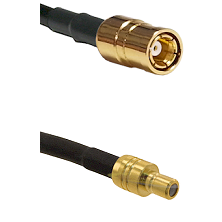 SMB Female To SMB Male Connectors LMR100 Cable Assembly