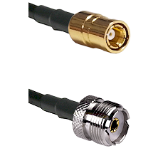 SMB Female To UHF Female Connectors LMR100 Cable Assembly