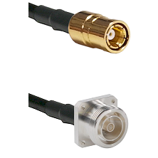 SMB Female on RG142 to 7/16 4 Hole Female Cable Assembly