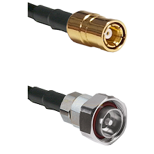 SMB Female on RG142 to 7/16 Din Male Cable Assembly