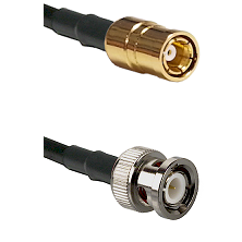SMB Female on RG142 to BNC Male Cable Assembly