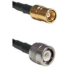 SMB Female on RG142 to C Male Cable Assembly