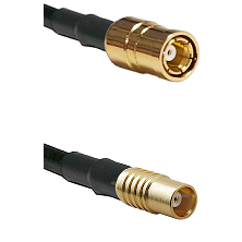 SMB Female on RG142 to MCX Female Cable Assembly