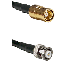 SMB Female on RG142 to MHV Male Cable Assembly
