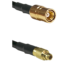 SMB Female To MMCX Male Connectors RG179 75 Ohm Cable Assembly
