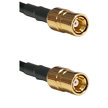 SMB Female To SMB Female Connectors RG179 75 Ohm Cable Assembly