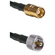 SMB Female To UHF Male Connectors RG179 75 Ohm Cable Assembly