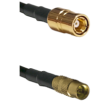 SMB Female To MMCX Female Connectors RG188 Cable Assembly