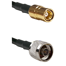 SMB Female On RG400 To N Male Connectors Coaxial Cable