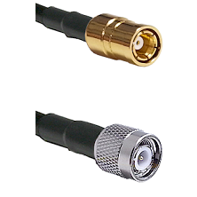 SMB Female On RG400 To TNC Male Connectors Coaxial Cable