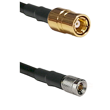 SMB Female on RG58C/U to 10/23 Male Cable Assembly